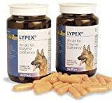 Lypex Pancreatic Enzyme Capsules for Dogs (Pack of 60)