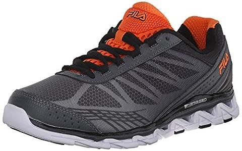 Fila Romeo 2 Energized Sneakers, Castlerock/Black/Red Orange, 12