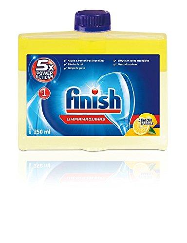 Finish Lavavajillas Limpiamáquinas Regular, más Ambientador para lavavajillas Limón