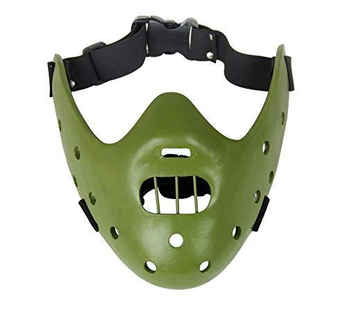 QJXSAN Motivmaske Kollektion Maske Boutique Resin Maske Silent Lamb Halloween Maske