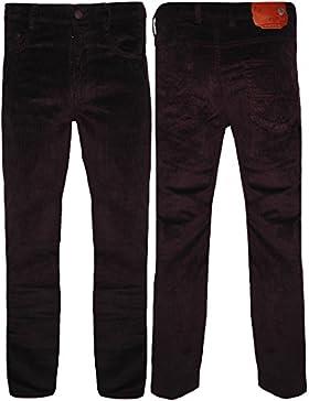 Cable de hombre pantalón pana algodón todos los tamaños 30–44Formal inteligente ajuste Regular, 3colores Casual...