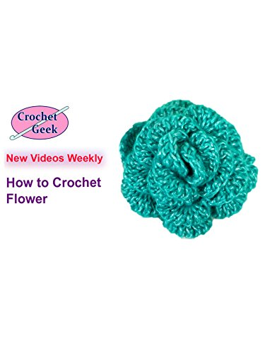 How to Crochet Flower Crochet Geek [OV]