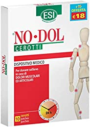 Esi No Dol - Dispositivo medico per donare sollievo in caso di dolori muscolari e articolari, 10 Cerotti