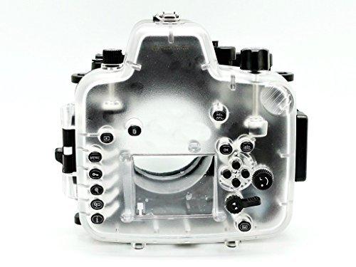 Buy CameraPlus – 60M 195ft Waterproof Diving Housing Case for Nikon D750 (AF-S VR 105mm f/2.8G IF-ED) Online