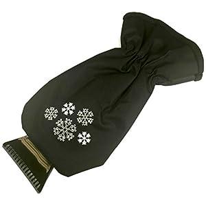 Glart 44EH Raschietto per Ghiaccio Professionale con Guanto riscaldante, qualità Premium, Nero