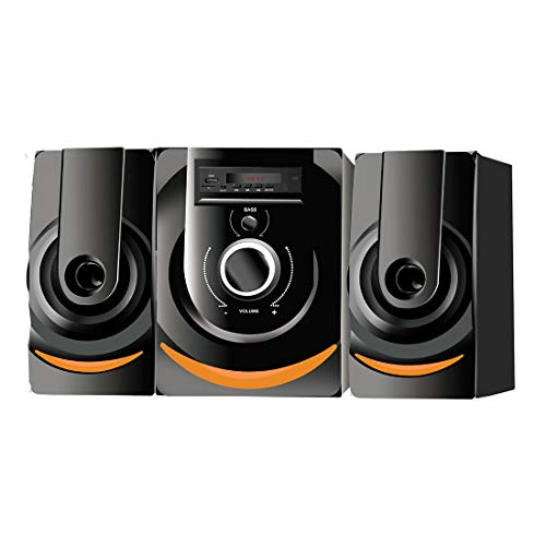I Kall IK-201 40W Bluetooth Home Theatre System with FM/AUX/USB Support and Remote Control with 1 Year Manufacture Warranty (Black)