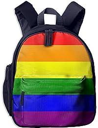 Gay Pride Flag Kid and Toddler Student Backpack School Bag Super Bookbag