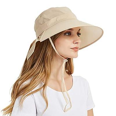 EINSKEY Fischerhut Damen UV Schutz Breite Krempe Hut Faltbar Outdoor Sonnenhut mit Nackenschutz von EINSKEY - Outdoor Shop