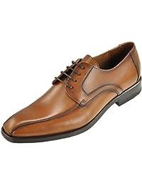 LLOYD 15–116–03 rappelé business chaussures à lacets-cuir de vachette cognac