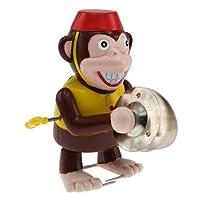 aufziehbarer Affe mit Becken
