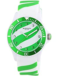 Madison New York analog Lollipop multi-color dial Unisex watch - U4620-10