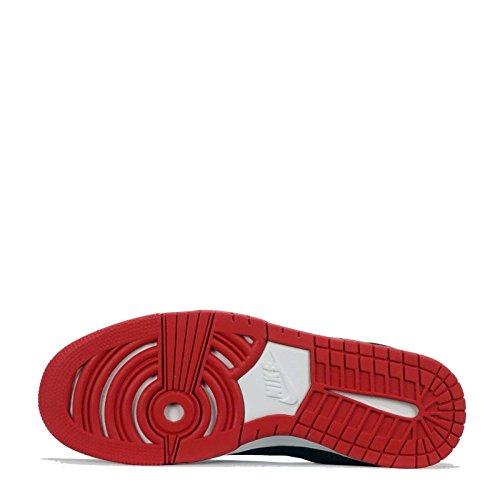 Nsw Kd Rosso Vii Nike Sport Metallico Nero Filo Nero Vita Argento Basket Scarpe Da Di Stile università uomo X5dxxg7
