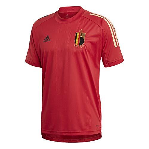 adidas Performance RBFA Belgien Trainingsshirt EM 2020 Herren rot/schwarz, XXXL