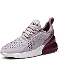 low priced b8ca6 9fe12 GJRRX Homme Femme Air Baskets Chaussures Gym Fitness Sport Sneakers Style  Running Multicolore Respirante Multisports Outdoor