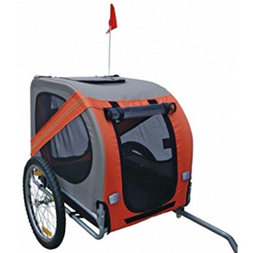 vidaXL Hunde-Fahrradanhänger Rex Orange
