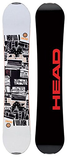 Head, snowboard unisex adulto tribute r plus speeddisc, bianco (multi-colored), 152 cm