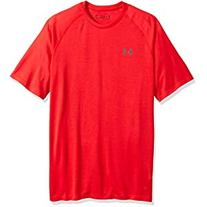 Under Armour Herren Tech Short Sleeve Tee Kurzarmshirt, Pierce/Rhino Gray (629), XXXL