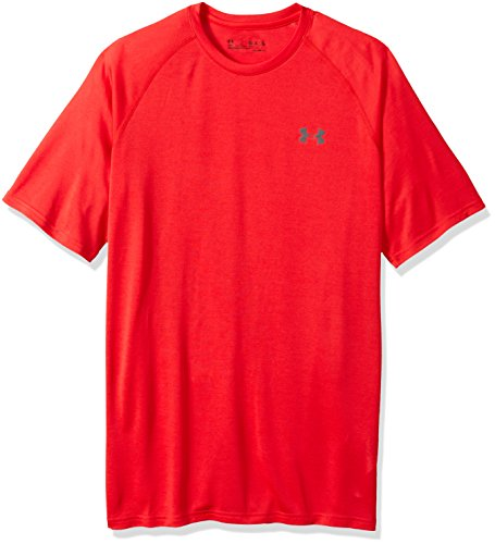 Under Armour Herren UA Tech Short Sleeve Tee Kurzarmhemd, Pierce, - La Tech-bekleidung