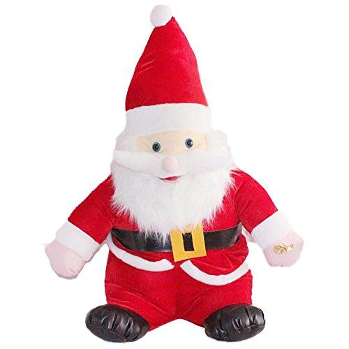 ukbiology Weihnachtsgeschenk Santa Claus Puppe Plüsch Höhe 20cm Spielzeug Weihnachten
