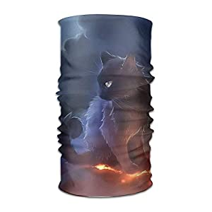 longkouishilong Kopfbedeckungen Magic Headwear Cat Warrior Outdoor Scarf Headbands Bandana Mask Neck Gaiter Head Wrap Mask Sweatband