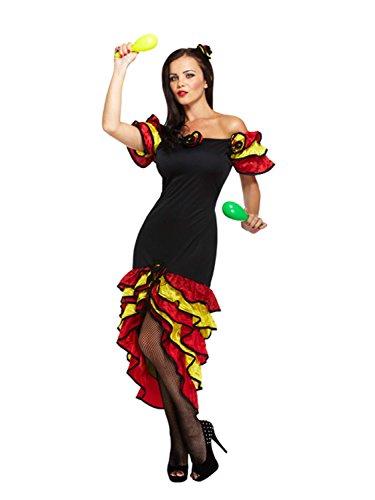 Sofias Schrank Damen Sexy Salsa Latin Dance Class Spanisch Rumba Kostüm ()