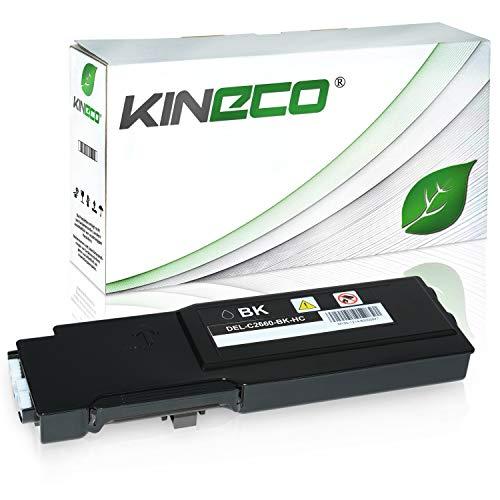 Toner kompatibel für Dell C2660DN, C2665DNF, C2600 Series - 593BBBQ - Schwarz 3.000 Seiten