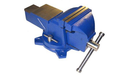 Schraubstock 150mm mit Amboss - robuste 20 Kg Ausführung 360° drehbar für Werkbank vice with anvil