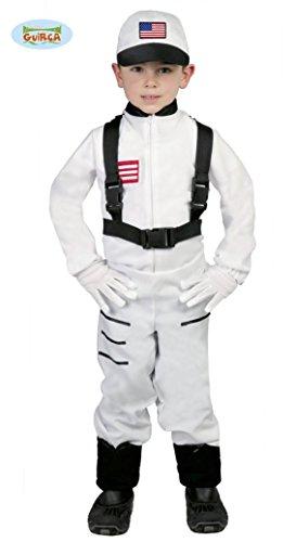 Astronaut Kostüm für Kinder Gr. 110-146, Größe:128/134