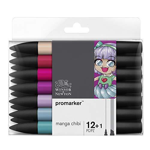 Winsor & Newton Promarker - 12+1 pennarelli Manga Chibi