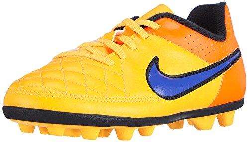 Nike  Junior Tiempo Rio II FG-R, Chaussures de football mixte enfant Orange