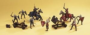 Simba 4415382-Knights Mega Lucha Set
