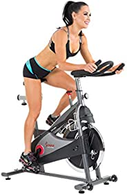 Sunny Health & Fitness Unisex Adult SF-B1509C Chain Drive Premium Cycling Bike - Grey, One