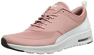 timeless design 4326e 1a39a Nike Women s Air Max Thea Low-Top Sneakers Rust Pink-Summit White-Black