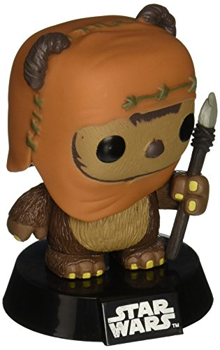 Funko 3270 POP! Bobble: Star Wars: Wicket (Star Wackelkopffigur Wars)