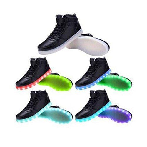 [présenter: Petite Serviette] Junglest® 11 Couleurs Lumineux Led-unisexe Chaussures, Style Décontracté, Pour Chaussures-paire De Lumières Led, C31