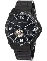 Pierre Petit Herren-Armbanduhr XL Le Mans Analog Automatik Edelstahl beschichtet P-803B