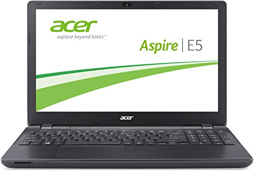 Acer Aspire E5-571-316T 39,62 cm (15,6 Zoll HD) Notebook (Intel Core i3-4005U, 1,7GHz, 4GB RAM, 500GB HDD, Intel HD Graphics 4400, DVD, Win 8.1) schwarz