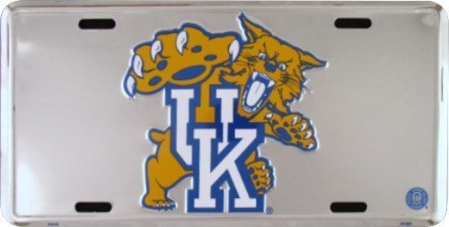 (6x12) University of Kentucky Wildcats NCAA Tin License Plate by Poster Revolution