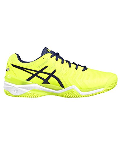 "Asics Herren Tennisschuhe Outdoor ""Gel-Resolution 7 Clay"" gelb (31) 39,5EU"