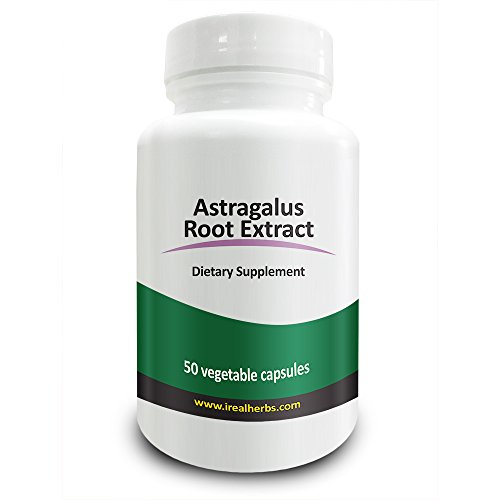 Real Herbs Astragalus Extract 4:1 700mg – Adaptogenic & Anti-Inflammatory Agent, Promotes Cardiovascular Health, Boosts Immune Function – 50 Vegetarian Capsules Test