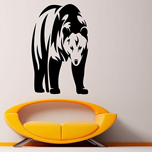 zqyjhkou Tatuajes de pared para Niños Viveros de vinilo pegatinas de pared Animal Art Mural Salones Decoración del hogar Arte Mural extraíble Sy95 57x75cm