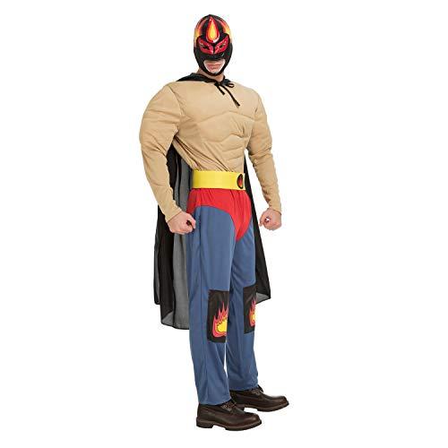 My Other Me Me-204316 Disfraz luchador Ramírez para hombre, M-L (Viving Costumes 204316