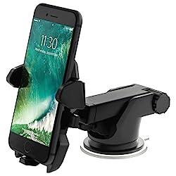 iOttie One Touch 2 Universal KFZ Auto Handyhalterung für Apple iPhone 5/5S/5C/6/6 Plus & Smartphone - Schwarz