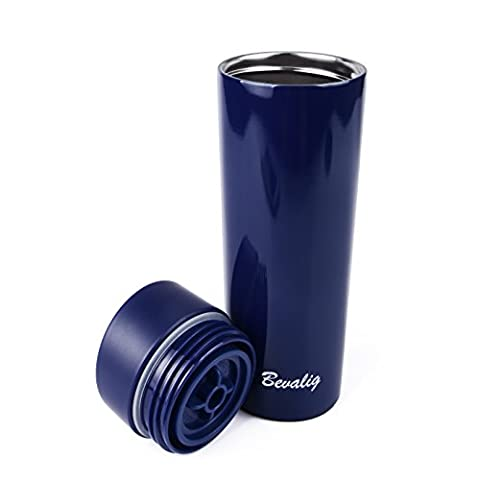 Travel Mug - Coffee Thermos Flask - Vacuum Insulated Stainless