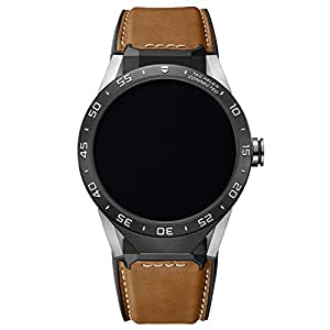 Tag Heuer Connected SAR8A80.FT6070 - Smartwatch da uomo, pelle di vitello
