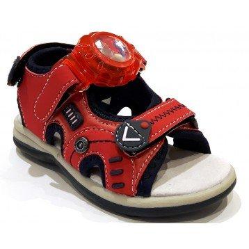 Super Jump 2810 Sandali Bambino Eco-pelle Rosso Rosso 29