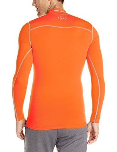 Under Armour Maglia da fitness a maniche lunghe Uomo Dark Orange