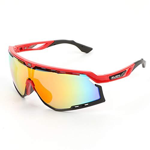 WeiJX Sport Polarisierte Sonnenbrille UV-Schutz Sonnenbrille Laufen Golf Angeln Wandern Baseball 0020 Fahren Sonnenbrille Shades für Männer Frauen,B