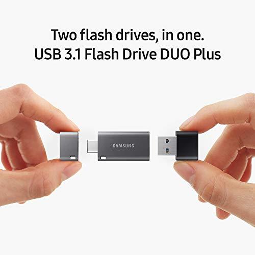 Samsung Duo Plus USB 3.1 64GB Pen Drive (Black)