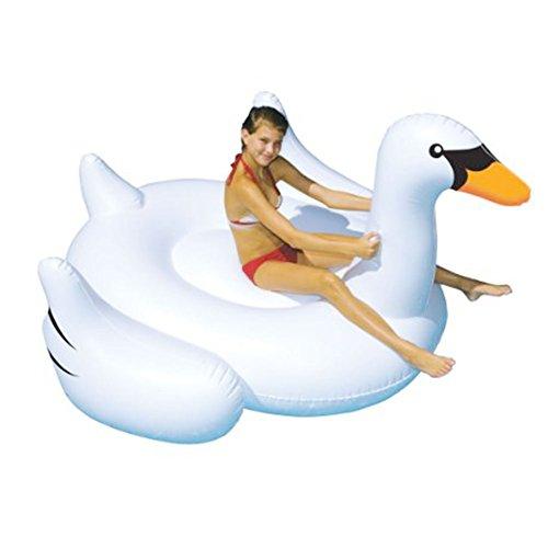 Juguetes gigantes para nadar - Balsa flotante inflable de la piscina del...